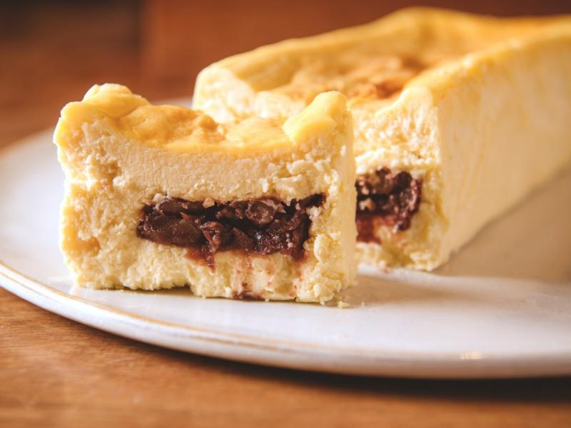 あんこチーズケーキ