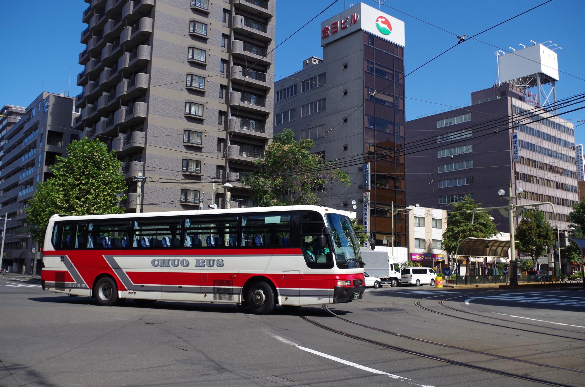 札幌市を走るバス