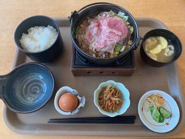 しほろ牛すき焼定食